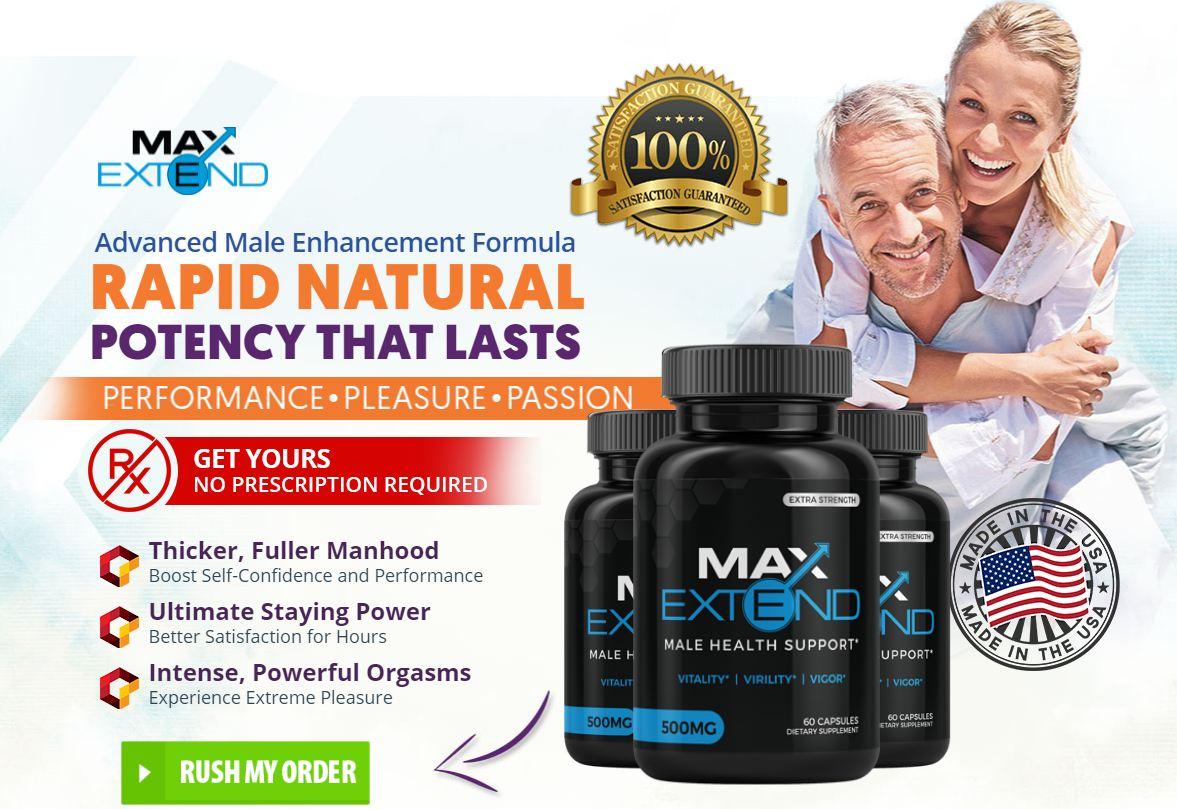 Max Extend Male Enhancement Review | Restore Bedroom Performances!